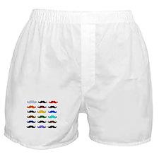 COLORFUL MOUSTACHE Boxer Shorts