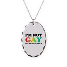 I'm not gay but my boyfriend is Necklace