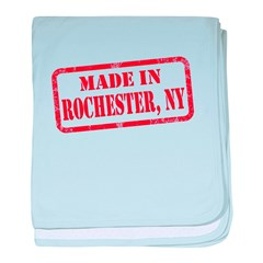 MADE IN ROCHESTER, NY baby blanket
