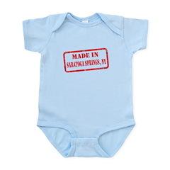 MADE IN SARATOGA SPRINGS, NY Infant Bodysuit