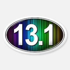 13.1 RAINBOW Marathon Decal