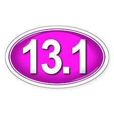 13.1 PINK Marathon Decal
