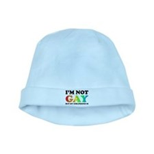 I'm not gay but my girlfriend is baby hat