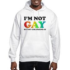I'm not gay but my girlfriend is Hoodie