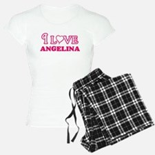 I Love Angelina Pajamas
