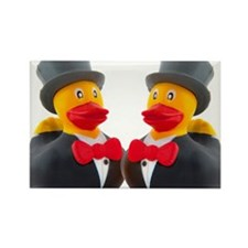 DUCK GROOMS Rectangle Magnet
