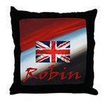 Robin National Bird Throw Pillow