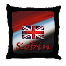 Robin National Bird Throw Pillow