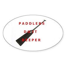 Paddlers-Do-It-Deeper Bumper Stickers