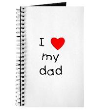 I love my dad Journal