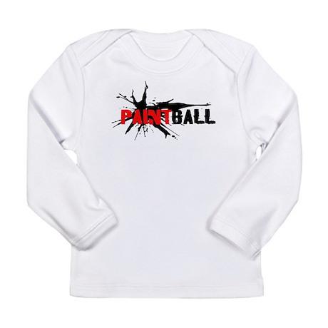Paintball Long Sleeve Infant T-Shirt