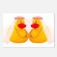 DUCK BRIDES Postcards (Package of 8)