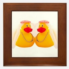 DUCK BRIDES Framed Tile