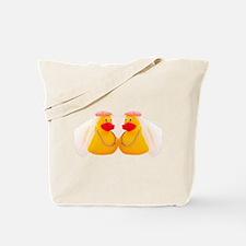 DUCK BRIDES Tote Bag
