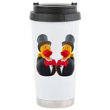 DUCK GROOMS Travel Mug