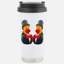 DUCK GROOMS Travel Mug