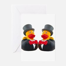 DUCK GROOMS Greeting Cards (Pk of 10)