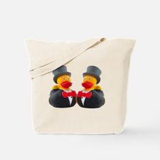 DUCK GROOMS Tote Bag