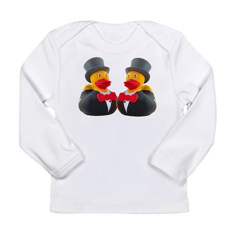 DUCK GROOMS Long Sleeve Infant T-Shirt