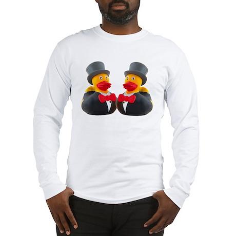 DUCK GROOMS Long Sleeve T-Shirt