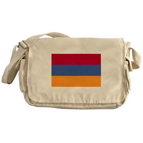 Armenian Flag Messenger Bag