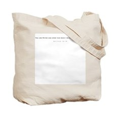 Benedict COA silver w/name Tote Bag