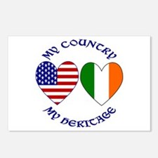 USa / Irish Country Heritage Postcards (Package of