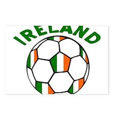 Irish Flag Football Postcards (Package of 8)
