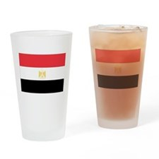 Cute Egypt flag Drinking Glass