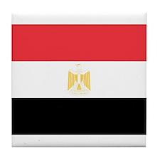 Funny Egypt flag Tile Coaster