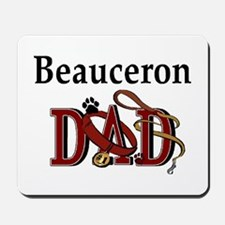 Beauceron Dad Mousepad