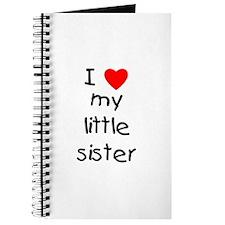 I love my little sister Journal