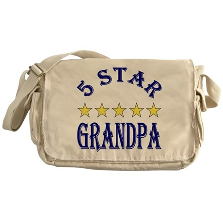 5 Star Grandpa Messenger Bag