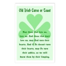 Irish Curse or Toast Postcards (Package of 8)