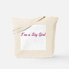 Sig Girl Tote Bag