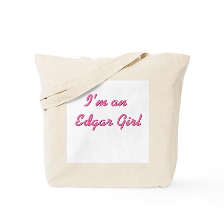 Edgar Girl Tote Bag