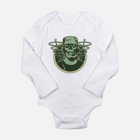 Retro Frankenstein Long Sleeve Infant Bodysuit