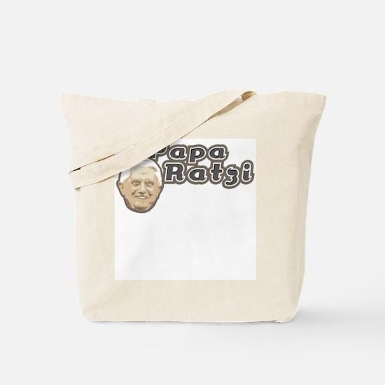 Papa Ratzi Tote Bag