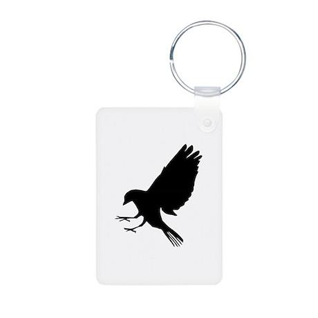 Bird Aluminum Photo Keychain