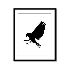 Bird Framed Panel Print