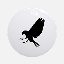 Bird Ornament (Round)