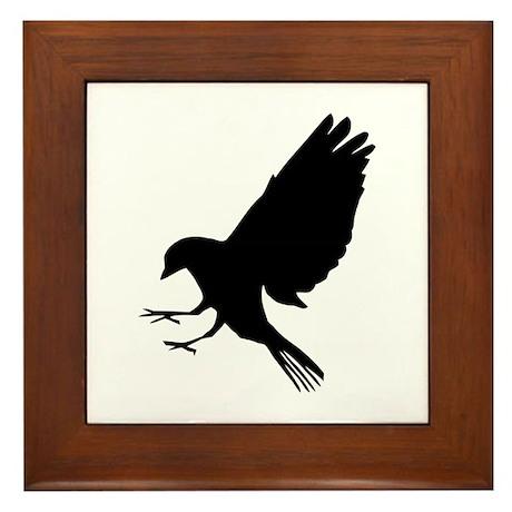 Bird Framed Tile