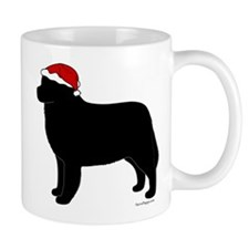 Bernese Mountain Dog Santa Mug