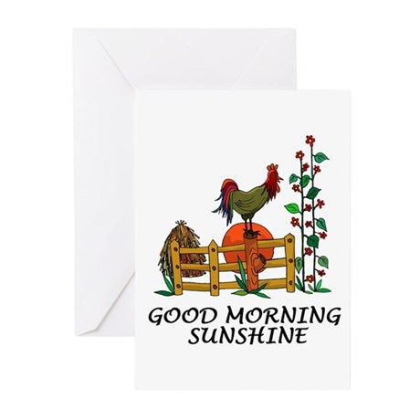 Good Morning Sunshine Greeting Cards (Pk of 10)