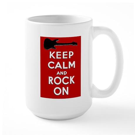 ROCK ON Large Mug