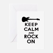 ROCK ON Greeting Cards (Pk of 10)