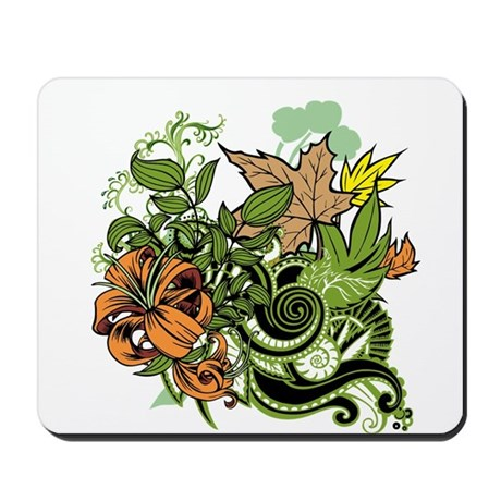 Blooming Autumn Mousepad
