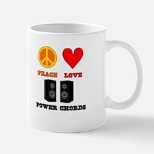 Peace Love Power Chords Mug