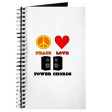 Peace Love Power Chords Journal