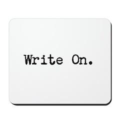 Write On Mousepad
